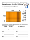 Using the Area Model of Multiplication