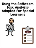 Using the Bathroom Task Analysis: Adapted for Special Learners (with Symbols)