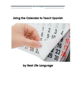 Using the Calendar to Teach Spanish