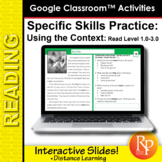 Google Classroom™ Activities: Using the Context