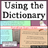 Dictionary Skills Activities for PROMETHEAN Board