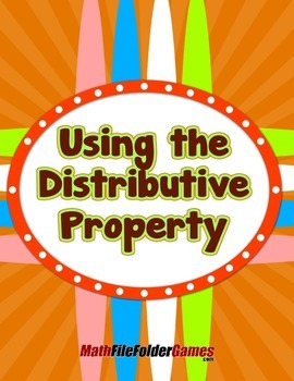 Using the Distributive Property {Mental Math Activity}