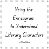 Using the Enneagram to Understand Literary Characters