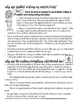 Using the Explain Everything Whiteboard App to Enhance Writing Instruction