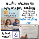 Using the Explain Everything Whiteboard App to Enhance Writing Instruction