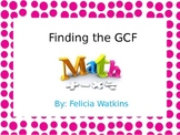 """Using the """"F"""" Strategy to find the GCF"""
