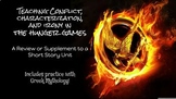 Using the Hunger Games to teach Irony, Characterization, Conflict