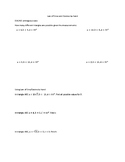 Using the Law of Sines and Cosines Worksheet (No Calculator)