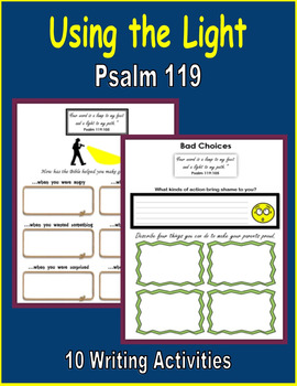 Using the Light (Psalm 119)