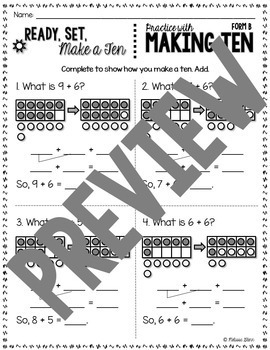Make Ten to Add, Differentiated