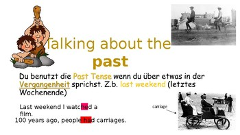 Using the Past Tense - What did you do last weekend? SPEAKING