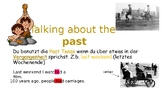 Using the Past Tense - What did you do last weekend? (ESL