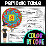 The Periodic Table Color By Number 2 | Science Color By Number