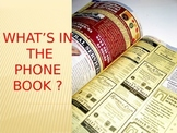 Using the Phone Book