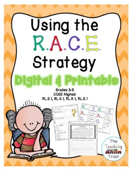 Using the R.A.C.E. Strategy