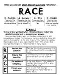 Using the RACE Strategy to Answer Prompts - Single Worksheet