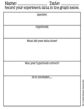 Using the Scientific Method for Classroom Experiments