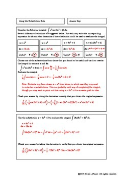 Using the Substitution Rule