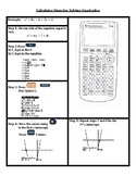 Systems Approach to Solve a Quadratic Equation in the TI-8