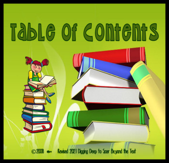 Using the Table of Contents