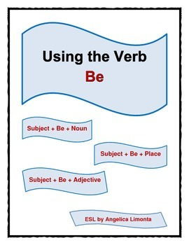 English: Using the Verb Be