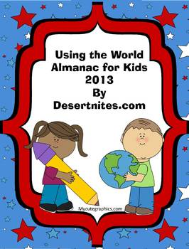Using the World Almanac for Kids 2013