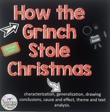 "Using the movie ""How the Grinch Stole Christmas"" to teach literary skills"
