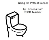 Using  the potty at school social story