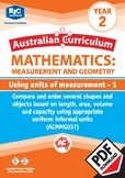 Using units of measurement 1 – Year 2