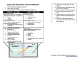Using your Interactive Science Notebook