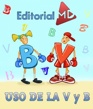 Uso de la V y B MATERIAL PARA IMPRIMIR