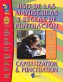 Uso de las Mayusculas y Reglas de Puntuacion/Cap & Punctuation Gr 1-3