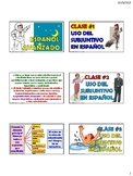 BUNDLE: Uso del Modo Subjuntivo en español (21 Power Point - No audio ) BUNDLE