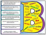 """Uso y reglas de la """"v"""" y """"b""""  Rules and uses for b and v i"""