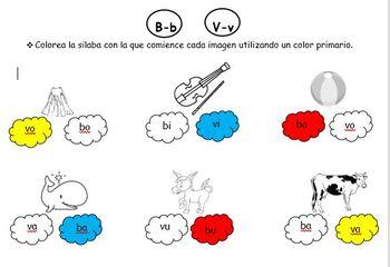 Usos de la V y B