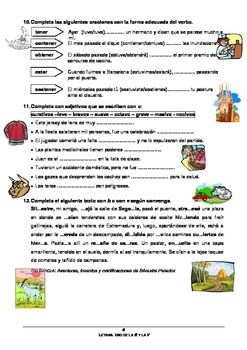 Spanish: worksheet to learn and practice the use of the letters b & v in Spanish