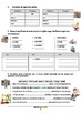 Spanish: worksheet to learn & practice the use of the lett