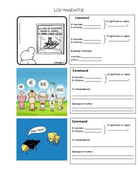 Usted Commands Meme and Comic Activity