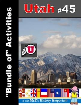 """Utah #45 """"Bundle of Ten/More"""" Activities"""