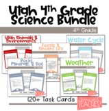 Utah 4th Grade Science Task Card Bundle