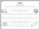Utah Alphabet Handwriting Practice - Cursive and Print