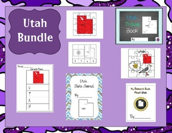 Utah Bundle- 7 Resources