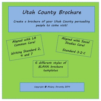 Utah County Brochure Template