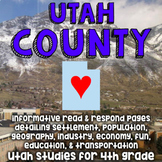 {Temporary Freebie!} Utah County Informative Reading, Opin