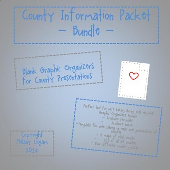 Utah County Reports Bundle!