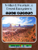 Utah Ecosystems Review & Assessment