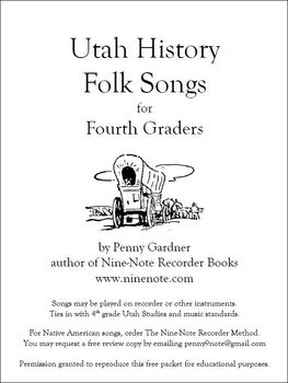 Utah Folk Songs