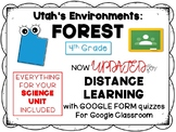 Utah Forest Environment Bundle (PPT, Printables, Activities)
