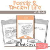 Utah 4th Grade Science Fossils and Ancient Life Task Cards