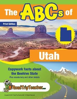 Utah Handwriting Printables - Print Edition